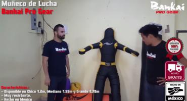 Demo Muñeco de Lucha Bankai Pro Gear