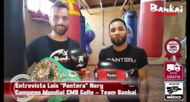 Entrevista con Luis Panteray Nery despues de su pelea con Yamanaka